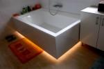 Intimní osvětlení koupelny