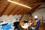 Osvětlení kanceláře na půdě