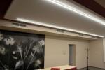 Osvětlení přednáškové místnosti – hotel Trim, Pardubice